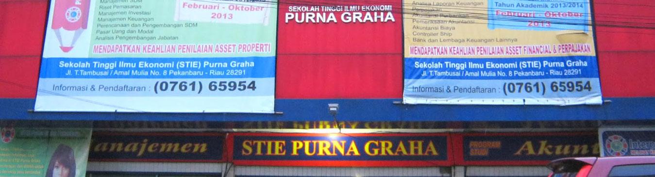Sekolah Tinggi Ilmu Ekonomi Purna Graha