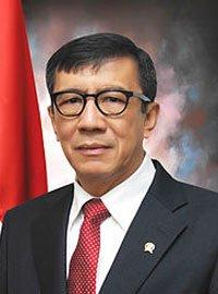 Yasonna Hamonangan Laoly SH., MSc., Ph.D