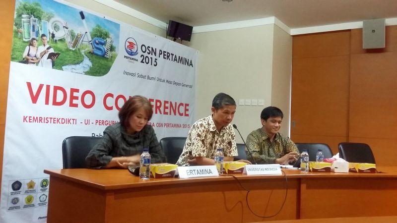 Universitas se-Indonesia Adu Pintar di OSN Pertamina 2015