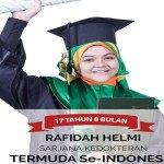 Rafidah, Usia 17 Tahun Sandang Gelar Sarjana Kedokteran