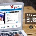 12 Kampus Terbaik Se-Indonesia Versi Dikti, Ada Kampusmu?