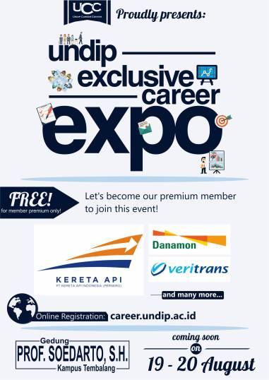 Undip Exclusive Career Expo - AyoKuliah.id