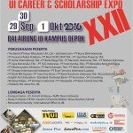 UI Career & Scholarship Expo XXII 2016