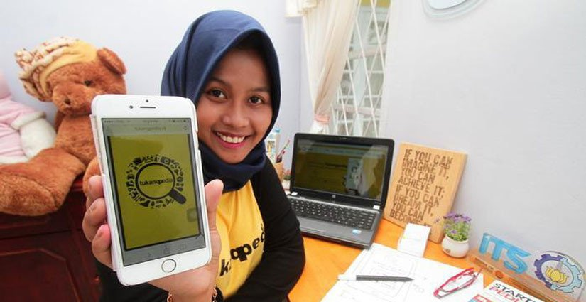Aplikasi 'Tukangpedia' Hasil Karya Alumni ITS Surabaya