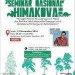 Seminar Nasional HIMAKOVA IPB