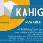 Beasiswa Skripsi S1 Datang Lagi Dari KAHIGAMA
