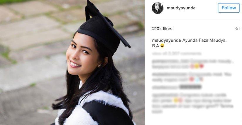 Maudy Ayunda Seleseikan Kuliah di Oxford Selama Tiga Tahun