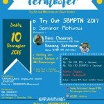 TERMOSFER – Try Out Persiapan SBMPTN 2017