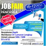 Ayo Cari Kerja Di Universitas Pancasila!