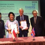 LSPR dan Coventry University Kembangkan Kerja Sama Komunikasi Maritim
