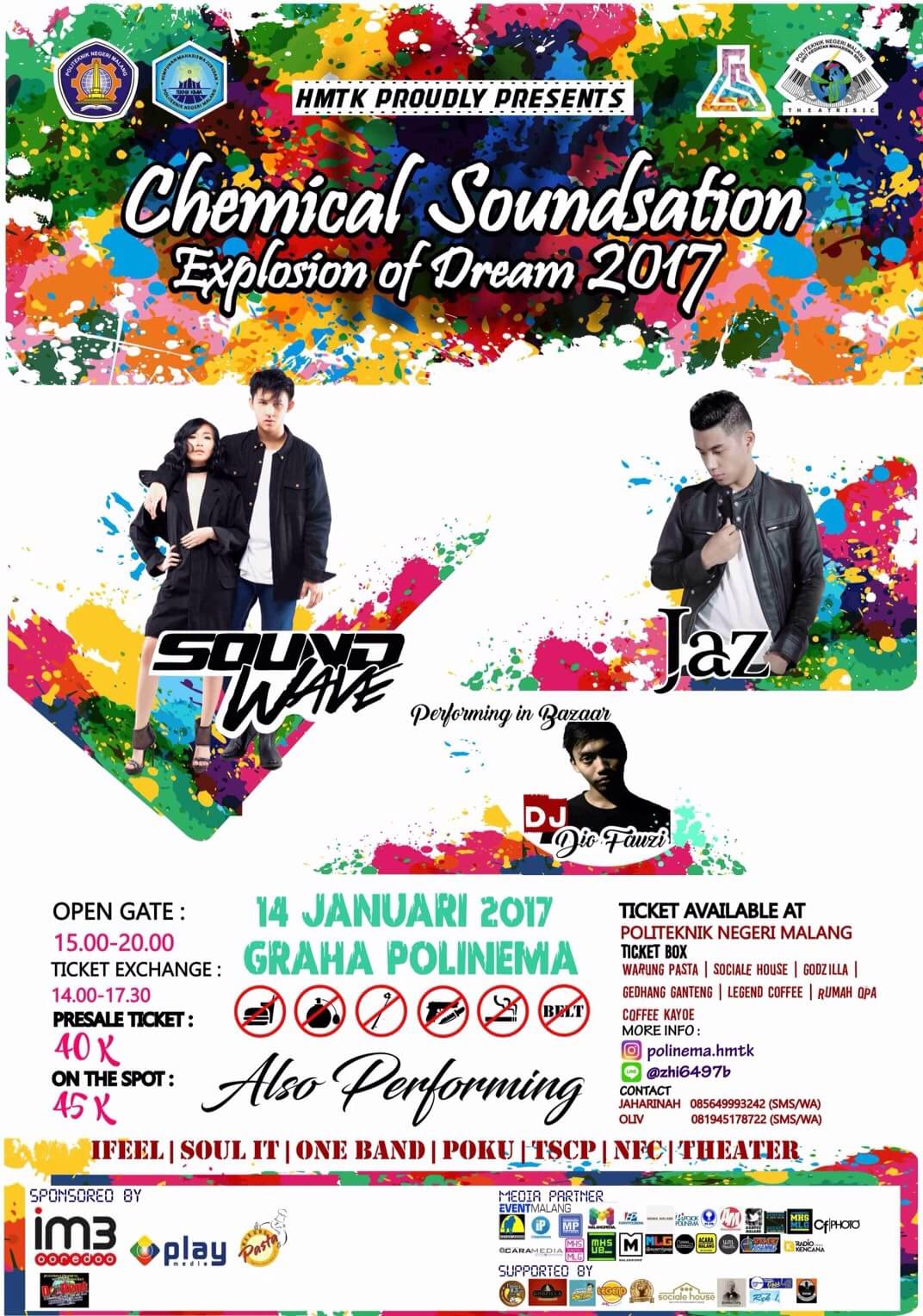 CHEMICAL SOUNDSATION 2017