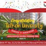 Capai Akreditasi A, Universitas Telkom Serius Kembangkan Dunia Pendidikan