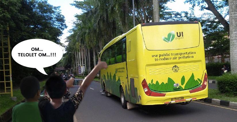 "Bagaimana Ya Jika Bus Kampus Pakai Klakson ""Om Telolet Om""?"