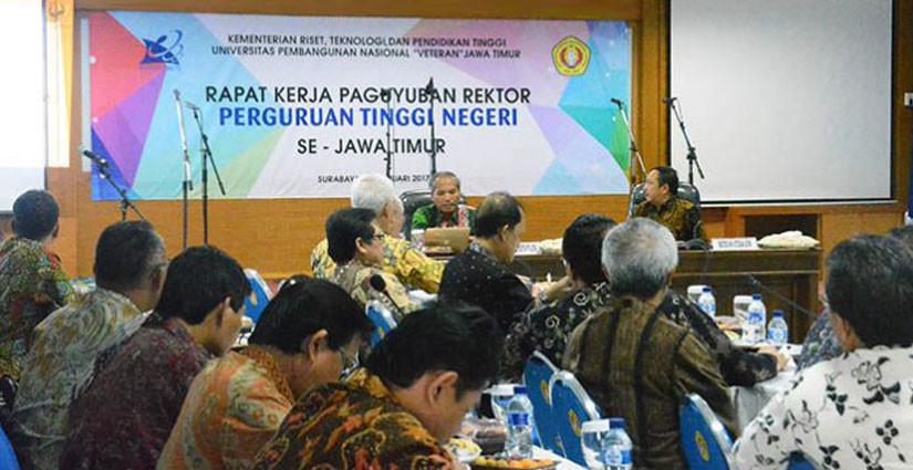 PTN se-Jawa Timur Hadiri Forum Rapat Kerja Paguyuban