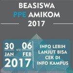Informasi Beasiswa PPE STMIK AMIKOM Yogyakarta