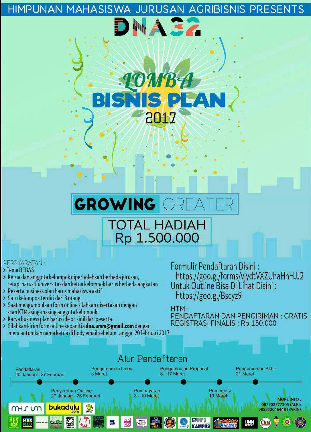 Lomba Business Plan 2017