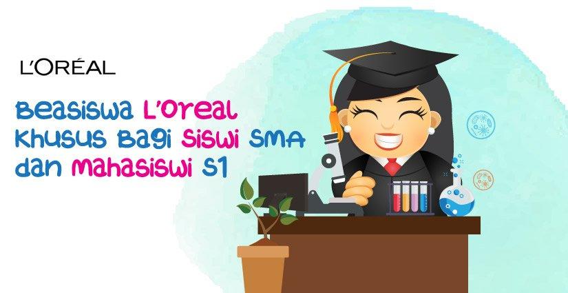 beasiswa-loreal-khusus-bagi-siswi-sma-dan-mahasiswi-s1
