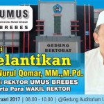 Komedian Qomar Pimpin Universitas Muhadi Setiabudi (UMUS)