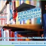 Beasiswa ATB 2017 Bantu Ringankan Biaya Kuliah