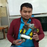 Mahasiswa Untag Surabaya Ciptakan Robot Pembersih Lantai