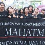 Sambut Hari Raya Nyepi, Mahatma UAJY Buat Ogoh-Ogoh Berbentuk Nyamuk