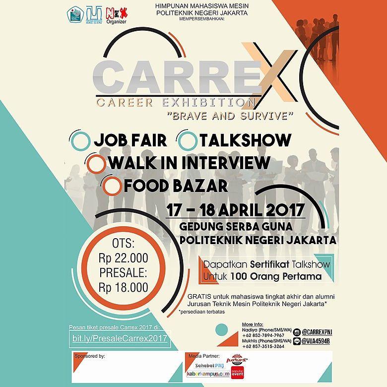 CAREER EXHIBITION 2017 – Politeknik Negeri Jakarta