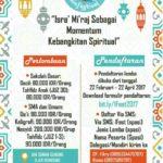 Islamic Festival 2017 – Isra Mi'raj sebagai momentum kebangkitan spiritual