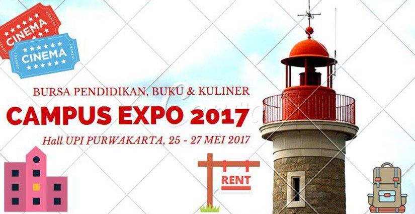 Campus Expo 2017, Pameran Pendidikan Terbesar di Jawa Barat