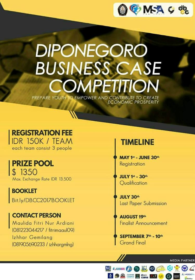 Diponegoro Business Case Competition