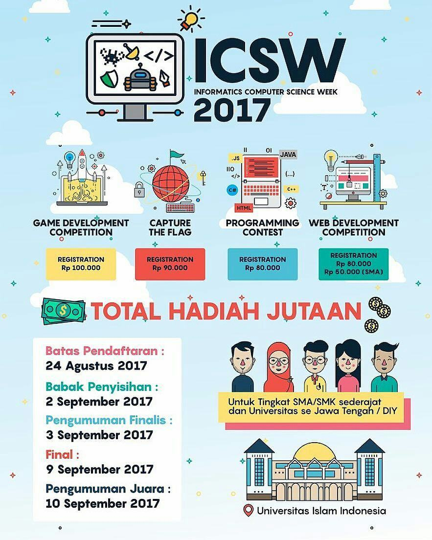 informatics-computer-sciences-week-icsw-2017