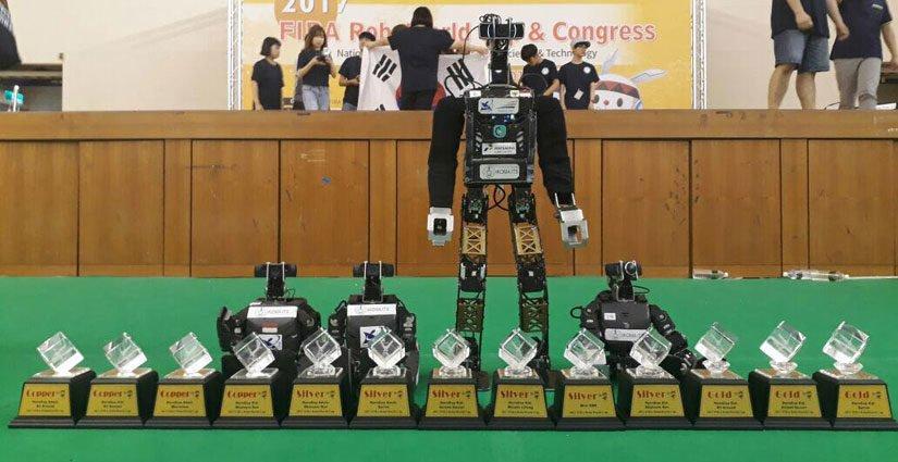 Tim Ichiro ITS Raih 14 Penghargaan Di Kompetisi FIRA Hurocup 2017