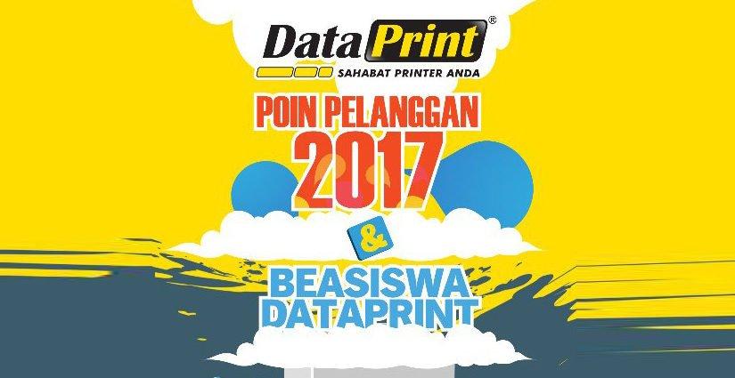 Pendaftaran Beasiswa DataPrint Tahap 2 Dibuka Hingga 21 Desember 2017!