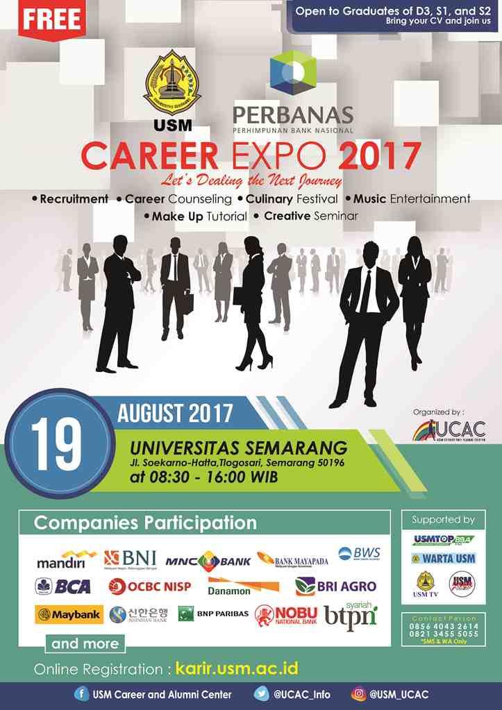 usm-career-expo-uce-semarang-2017