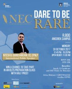 Seminar Poster NEC 2017