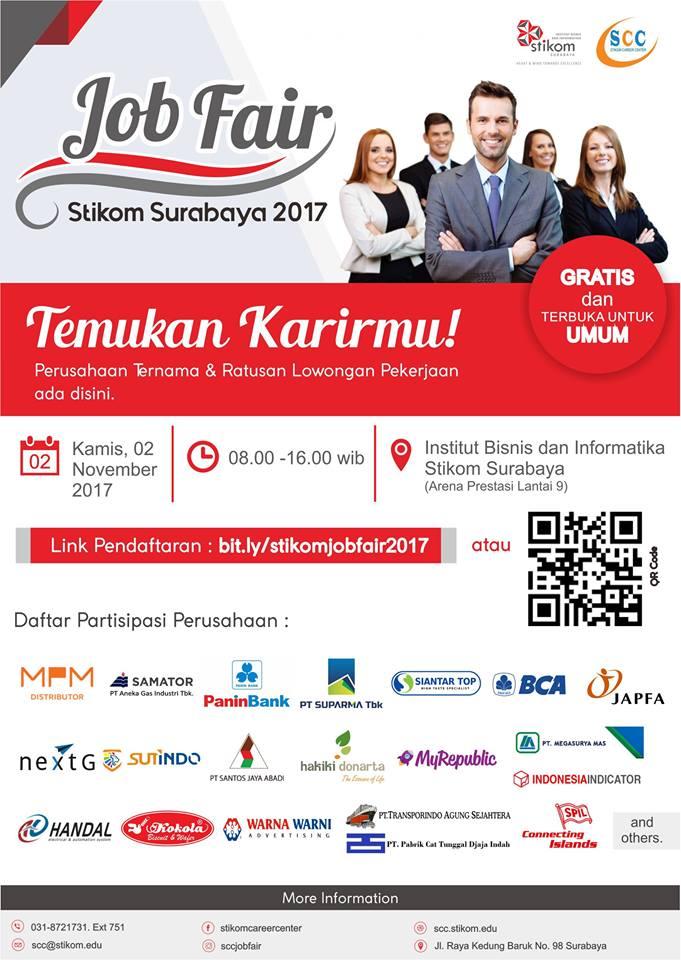 stikom-surabaya-job-fair