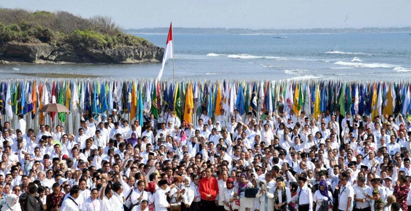 Ribuan Perguruan Tinggi Lanjutkan Aksi Kebangsaan Di Masing Provinsi