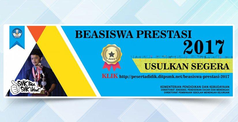 Beasiswa Prestasi 2017 Kemdikbud Bagi Siswa SMK