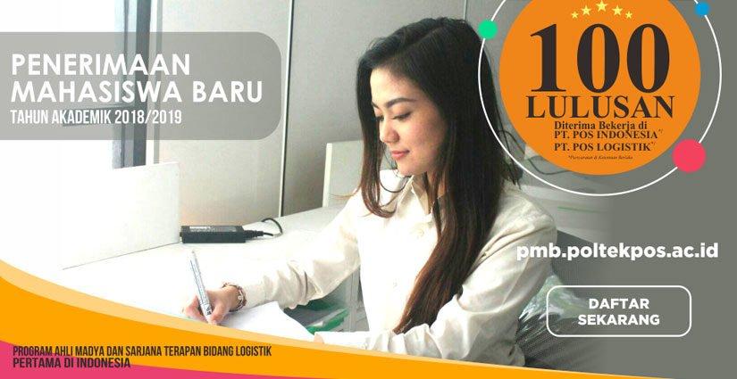 PMB 2018 Politeknik Pos Indonesia Dibuka Hingga September!