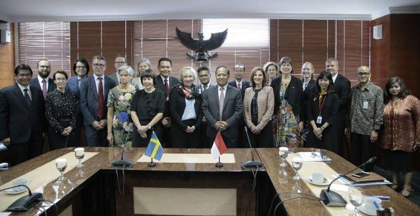 Indonesia – Swedia Perkuat Kerjasama Di Bidang IPTEK