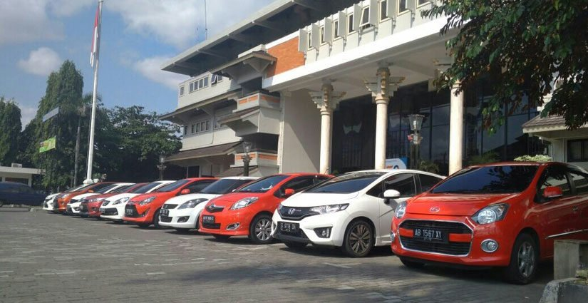 Wow, Parkir Mobil Berdasarkan Warna UAJY Jadi Trending Topic