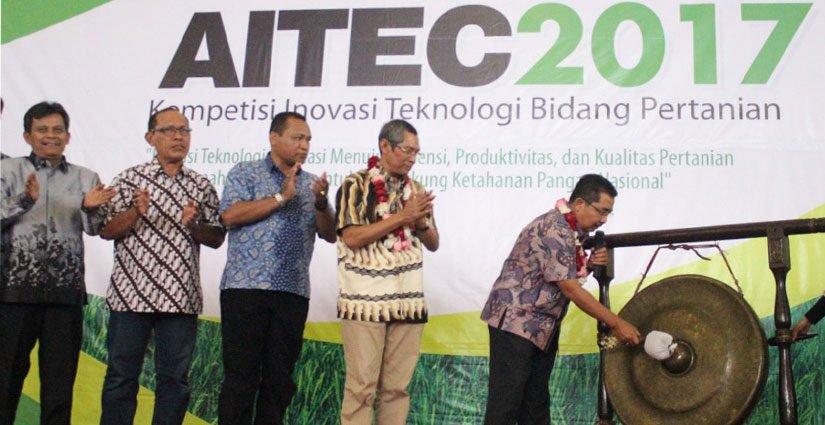 Belasan Perguruan Tinggi Ikuti Kompetisi Inovasi Teknologi Bidang Pertanian – AITEC 2017
