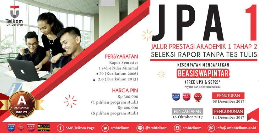 JPA Tahap 2 Telkom University Dibuka, Tanpa Tes Tertulis Lho!