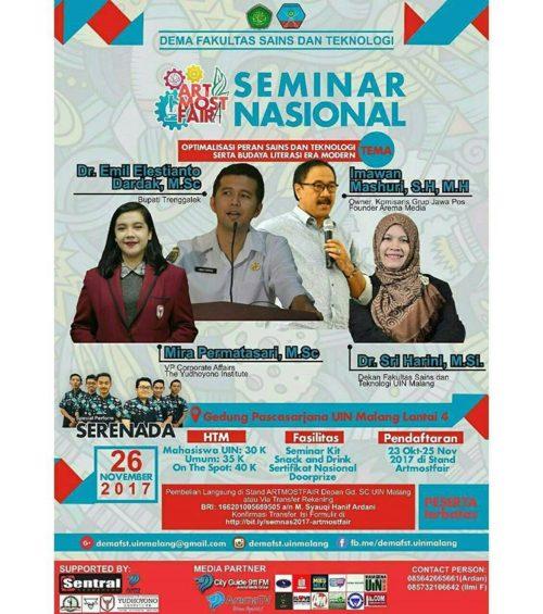 seminar-nasional-dema-fst-uin-maulana-malik-ibrahim-malang