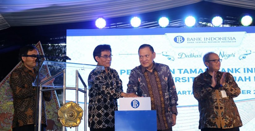 Bank Indonesia Resmikan Taman Terbuka Hijau Di UGM