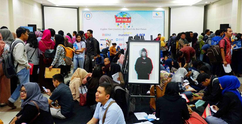 Udinus Sukses Gelar Job Fair Ke-19