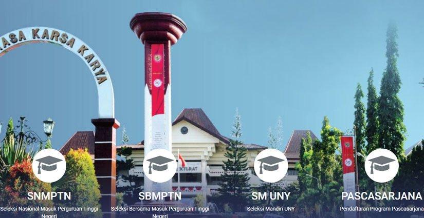UNY Buka PMB Jalur SNMPTN, SBMPTN Dan Seleksi Mandiri 2018!