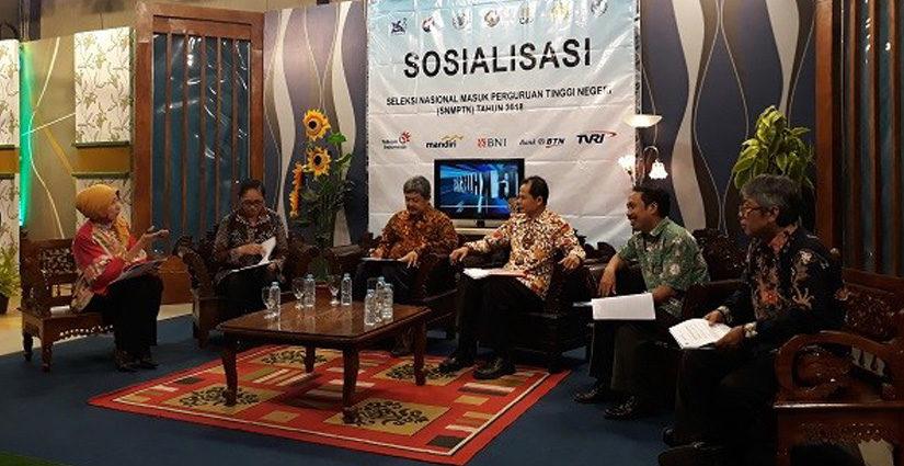 5 PTN DI Yogyakarta Gelar Sosialisasi SNMPTN 2018 Di ADiTv