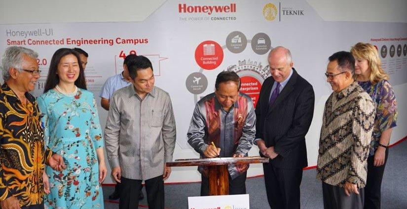 FTUI Kerjasama Dengan Honeywell, Luncurkan Laboratorium Canggih Pertama Di Indonesia