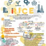 National Conference of Research And Innovation Call For Paper (NICE OF RICE) 2018