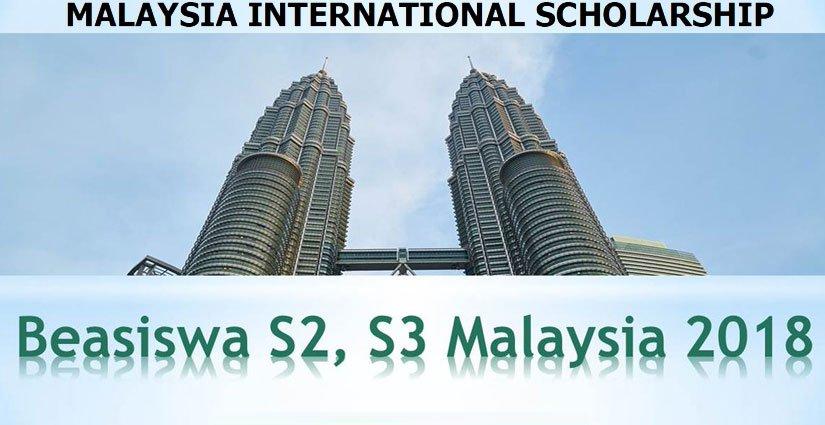 Beasiswa Full S2 dan S3 di Negeri Jiran Malaysia